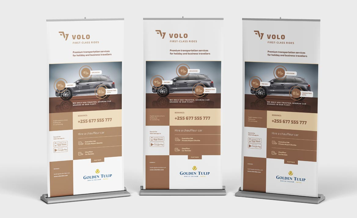 Volo - Brand Strategy & Identity in East Africa - Brand collaterals